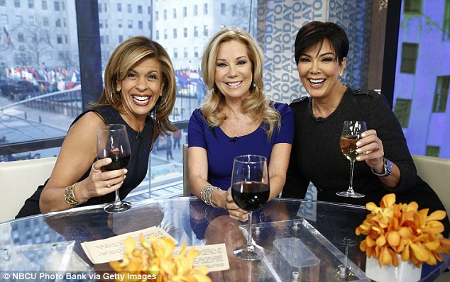 Sticking together - Kris is pictured on the Today show (in 2014), on which Kathie has dished that despite disagreeing with 'decisions they've made through the years,' she will continue to stick by the Kardashians