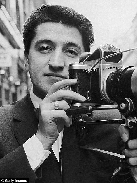 Photographer Ray Bellisario is pictured in January 1963, just five years before meeting the beautiful Bardot