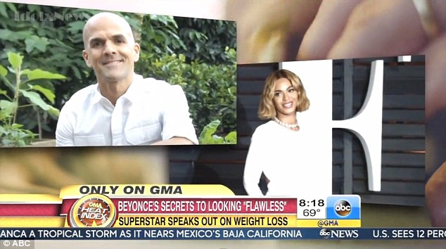 Anticlimactic: Fans were left a bit underwhelmed by the news, with one writing on Twitter:'They had the dramatic music in the Beyonce/GMA interview commercial and she's announcing that she only eats grass'