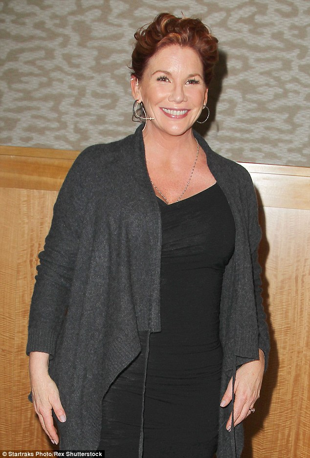 In debt: Melissa Gilbert (above in January) owes more than $360,000 to the IRS in unpaid taxes