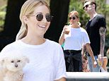 138657, Ashley Tisdale and her husband Christopher French seen visiting a Hare Krishna event in Washington Square Park,NYC. New York, New York - Saturday June 13, 2015. Photograph: © Brian Flannery, PacificCoastNews. Los Angeles Office: +1 310.822.0419 sales@pacificcoastnews.com FEE MUST BE AGREED PRIOR TO USAGE