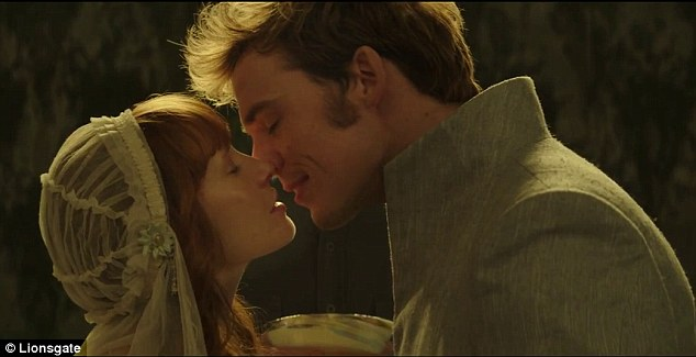 A happier moment: The teaser kicks off with the wedding of Finnick and Annie