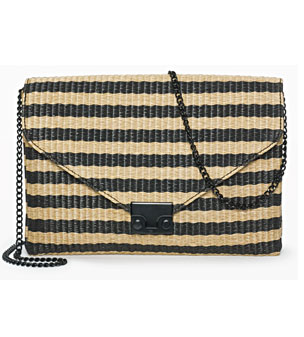 Bag, £280, Loeffler Randall, from Club Monaco, 020 7953 9100