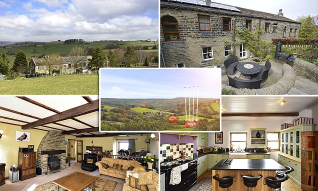 Farmhouse in Yorkshire Tea advert up for sale for £500,000