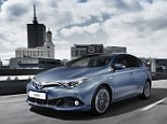 New Toyota Auris - British built . Toyota Hand Out Picture Ray Massey Story