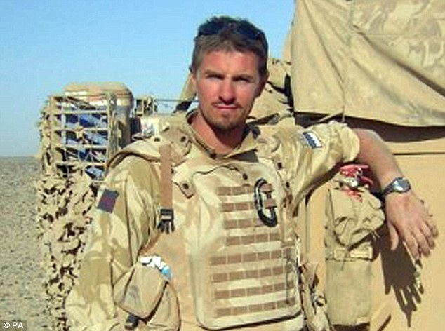 A combat media recently told an inquest into the deaths of Corporal James Dunsby (pictured) and two other reservists that hewas 'not told to read' Ministry of Defence guidelines