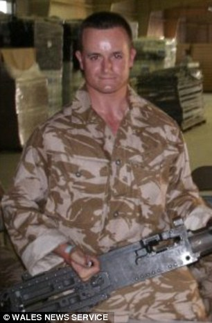 Lance Corporal Craig Roberts, 24, (pictured) also died following the 16-mile exercise on theBrecon Beacons in South Wales in July 2013 - on one of the hottest days of that year
