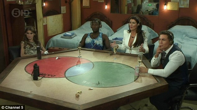Spies: The three legends, Nikki, Brian and Helen, did not hold back about the housemates
