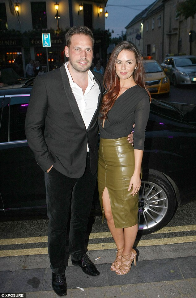 Looking good: The pair, who have known each other for years, certainly make an attractive couple