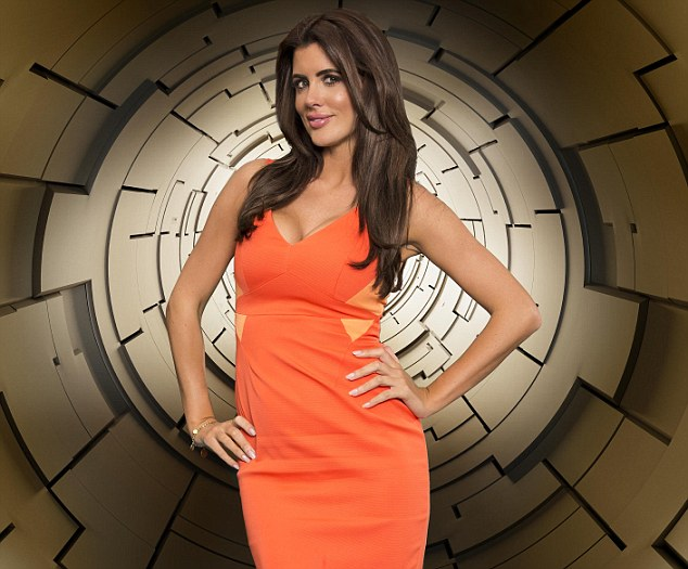 Back for more: Helen Wood, who won Big Brother last year, is also back for Time Warp week