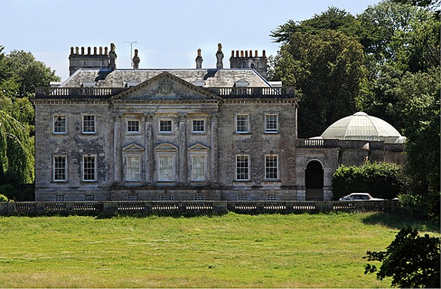 Stately home: This is the beautiful 18th-century mansion in Dorset that Mr Norton's family lives in