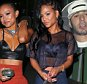 Karin Benzemar rumoured to be Rihanna's new B/F, and party girls Karreuche Tran & Christina Milian leaving the Warwick N/Club in the early hours of Thursday Morning\nMaciel/x17online.com June 11th 2015\nOK FOR WEB SITE USAGE\nAny queries call X17 UK Office /0034 966 713 949/926 \nAlasdair 0034 630576519 \nGary 0034 686421720\nLynne 0034 611100011