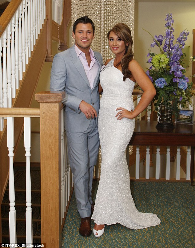 Throwback snap: The couple got engaged on an episode of TOWIE but it wasn't to be