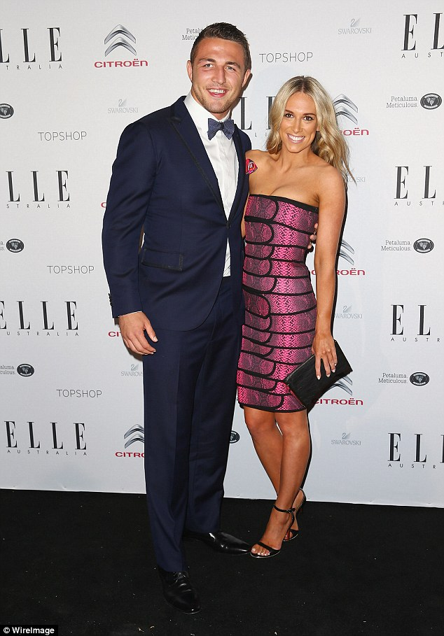 It's official! They finally went public as a couple at the prestigious Dally M awards in September last year