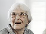 FILE - In this Aug. 20, 2007, file photo, author Harper Lee, who wrote ¿To Kill a Mockingbird,¿  smiles during a ceremony honoring her at the Capitol in Montgomery, Ala. Six letters by Lee, to one of her close friends could bring as much as $250,000 at auction. Christie¿s is selling the signed and typed letters on Friday. They were written to New York architect Harold Caufield between 1956 and 1961. (AP Photo/Rob Carr, File)