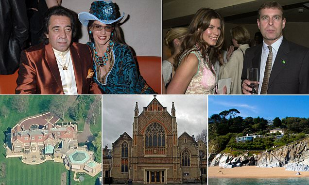 What will Prince Andrew's glamorous friend get in the UK's first £4BILLION divorce? Former