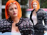 June 14, 2015:  Geoffrey Edelsten took his new wife Gabi Grecko to meet his mother at a rest home in Melbourne...Gabi announced today that she is pregnant, teh couple look very happy..EXCLUSIVE..Mandatory Credit: INFphoto.com Ref: infausy-12/42