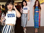 Mandatory Credit: Photo by Ray Tang/REX Shutterstock (4848294bf)\n Daisy Lowe\n House of Holland presentation, London Collections: Men, Spring Summer 2016, London, Britain - 14 Jun 2015\n \n