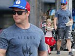 EXCLUSIVE: Luke Hemsworth grocery shopping in Malibu with his family.....Pictured: Luke Hemsworth..Ref: SPL1053495  130615   EXCLUSIVE..Picture by: Clint Brewer / Splash News....Splash News and Pictures..Los Angeles: 310-821-2666..New York: 212-619-2666..London: 870-934-2666..photodesk@splashnews.com..
