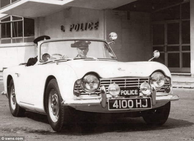 A TR4 acquired by Southend-on-Sea County Borough police in 1962 is expected to sell for a staggering £40,000 at auction