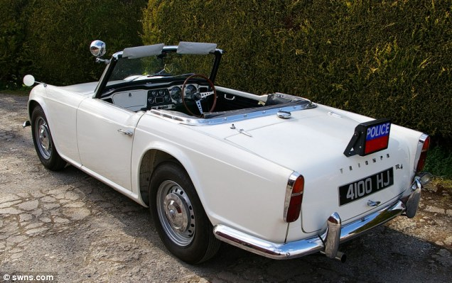Eventually retired from service in the 1970s, the car was last sold to its current owner in 1991 who decided to restore it to original police specification