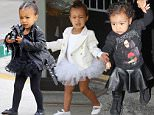 Mandatory Credit: Photo by Broadimage/REX Shutterstock (4783916al).. North West.. The Kardashians out and about, Los Angeles, America - 21 May 2015.. Kim Kardashian and North West wearing matching outfits while going to Tap Dacing Classes at Miss Melodee Studios..