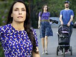 EXCLUSIVE: Dutch actress Famke Jansse enjoys an evening hike with her husband Kip Williams and beloved boston terrier Licorice at runyon canyon in Los Angeles.\n\nPictured: Famke Janssen\nRef: SPL1053023  130615   EXCLUSIVE\nPicture by: M A N I K (NYC)/Splash News\n\nSplash News and Pictures\nLos Angeles: 310-821-2666\nNew York: 212-619-2666\nLondon: 870-934-2666\nphotodesk@splashnews.com\n