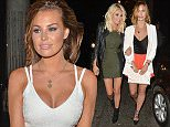 LONDON, UNITED KINGDOM - JUNE 15: Chloe Sims and Ferne McCann seen at Chinawhite club on June 15, 2015 in London, England.  PHOTOGRAPH BY Eagle Lee / Barcroft Media UK Office, London. T +44 845 370 2233 W www.barcroftmedia.com USA Office, New York City. T +1 212 796 2458 W www.barcroftusa.com Indian Office, Delhi. T +91 11 4053 2429 W www.barcroftindia.com