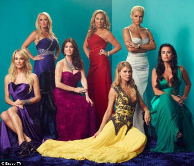 The cast: Real Housewives of Beverly Hills stars Taylor Armstrong, Kim Richards, Lisa Vanderpump, Adrienne Maloof, Brandi Glanville, Yolanda Hadid and Kyle Richards will premiere season three on November 5