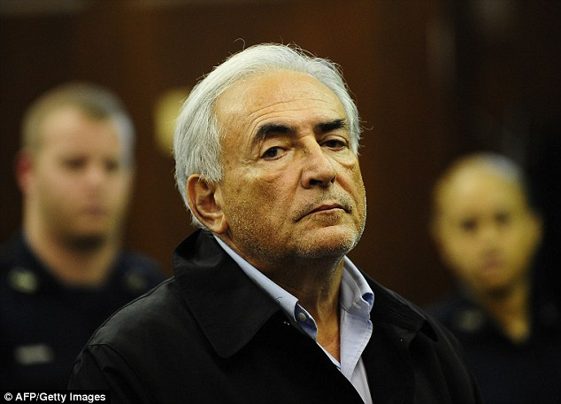 Dominique Strauss Kahn (file picture)risks as much as 10 years in prison and a fine of up to 1.5 million euros (£1.1million) if convicted