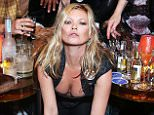 LONDON, ENGLAND - JUNE 15:  Kate Moss, Andreas Kronthaler, Vivienne Westwood and models attend Anotherman 10th anniversary party at Lou Lou's, 5 Hertford Street, Mayfair on June 15, 2015 in London, England.  (Photo by Darren Gerrish/WireImage)