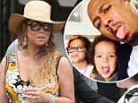 EXCLUSIVE. COLEMAN-RAYNER. Calabasas, CA, USA. \nJune 13, 2015\nMariah Carey meets up with ex Nick Cannon at a Susie Cakes cupcake bakery. Nick arrived with toys in hand as he picked up the ex-couples twins Moroccan and Monroe. \nCredit Must Read: Karl Larsen/Coleman-Rayner\nTel US (001) 323 545 7584 - Mobile\nTel US (001) 310 474 4343 - Office\nwww.coleman-rayner.com
