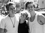 ashleytisdaleI love seeing these boys. My little brothers have grown into such smart, talented, and genuinely great people. @olekingcolesprouse @dylan_spr