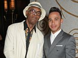 LONDON, ENGLAND - JUNE 15:  Samuel L. Jackson (L) and Lewis Hamilton attend the GQ London Collections Men closing party hosted by Dylan Jones at Massimo Restaurant & Oyster Bar in Corinthia London on June 15, 2015 in London, England.  (Photo by David M. Benett/Dave Benett/Getty Images)
