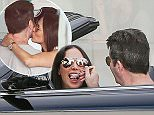 15 JUNE 2015 - BEVERLY HILLS - USA *** EXCLUSIVE PICTURES *** LOVE IS IN THE AIR! COUPLE SIMON COWELL AND LAUREN SILVERMAN PICTURED LOOKING VERY LOVED UP AS THEY ARE SEEN SHOPPING AT SAKS AND EATING ICE CREAM WHILE IN BEVERLY HILLS. BYLINE MUST READ : XPOSUREPHOTOS.COM ***UK CLIENTS - PICTURES CONTAINING CHILDREN PLEASE PIXELATE FACE PRIOR TO PUBLICATION *** **UK CLIENTS MUST CALL PRIOR TO TV OR ONLINE USAGE PLEASE TELEPHONE  44 208 344 2007**