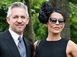 ASCOT, ENGLAND - JUNE 16:  Gary and Danielle Lineker arrive during Day 1 of Royal Ascot 2015 at Ascot Racecourse on June 16, 2015 in Ascot, England.  (Photo by Christopher Lee/Getty Images)