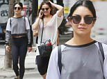 New York, NY - Vanessa Hudgens and her sister Stella return from a morning workout session in NYC, the brunette duo showed off their look-a-like style matching their workout leggings and keeping it cool.\nAKM-GSI       June 15, 2015\nTo License These Photos, Please Contact :\nSteve Ginsburg\n(310) 505-8447\n(323) 423-9397\nsteve@akmgsi.com\nsales@akmgsi.com\nor\nMaria Buda\n(917) 242-1505\nmbuda@akmgsi.com\nginsburgspalyinc@gmail.com