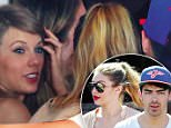 Picture Shows: Taylor Swift, Gigi Hadid, Joe Jonas  June 14, 2015\n \n * Min Web / Online Fee £400 For Set *\n \n Couple Taylor Swift and Calvin Harris meet up with Gigi Hadid, Joe Jonas, Jessica Alba and other friends at the Soho House in Hollywood, California. \n \n Afterwards they all head out for lunch at Plan Check Kitchen & Bar.\n \n * Min Web / Online Fee £400 For Set *\n \n EXCLUSIVE ALL ROUNDER\n UK RIGHTS ONLY\n FameFlynet UK © 2015\n Tel : +44 (0)20 3551 5049\n Email : info@fameflynet.uk.com