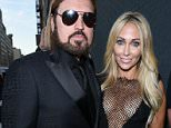 Mandatory Credit: Photo by Erik Pendzich/REX Shutterstock (4849143ac)  Billy Ray Cyrus and Tish Cyrus  amfAR Inspiration Gala, New York, America - 16 Jun 2015