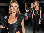 15 June 2015.\nKate Moss and Vivienne Westwood seen arriving at the Another Magazine party at Lou Lou's this evening. \nCredit: GoffPhotos.com   Ref: KGC-102\n