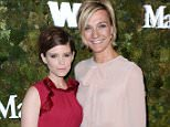 Kate Mara, left, and Nicola Maramotti, arrive at a cocktail reception honoring the 2015 Women in Film Max Mara Face of the Future recipient Kate Mara at Chateau Marmont on Monday, June 15, 2015, in West Hollywood, Calif. (Photo by Richard Shotwell/Invision/AP)
