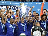 Chelsea v Sunderland, Premier league. The final day of the season where Chelsea get the Premiership trophy.   Picture Andy Hooper Daily Mail/ Solo Syndication.   pic shows