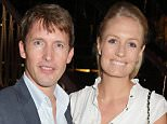 LONDON, ENGLAND - JUNE 16:  James Blunt (L) and Sofia Wellesley attend the Walkabout Foundation Event hosted by Dee Ocleppo And Tommy Hilfiger at Loulou's on June 16, 2015 in London, England.  (Photo by David M. Benett/Dave Benett / Getty Images for Walkabout Foundation)