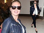 Kate Upton arriving at LAX from NYC, took time out for pics with her fans...Juliano/x17online.com June 16th 2015\nOK FOR WEB SITE USAGE\nMAGAZINES NORMAL FEES\nAny queries call X17 UK Office /0034 966 713 949/926 \nAlasdair 0034 630576519 \nGary 0034 686421720\nLynne 0034 611100011