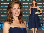 """CANCUN, MEXICO - JUNE 15:  Actress Michelle Monaghan attends the """"Pixels"""" photo call during Summer Of Sony Pictures Entertainment 2015 at The Ritz-Carlton Cancun on June 15, 2015 in Cancun, Mexico. #SummerOfSonyPictures #PixelsMovie  (Photo by Victor Chavez/Getty Images for Sony Pictures Entertainment)"""