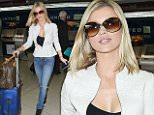 eURN: AD*172703343  Headline: JOANNA KRUPA BRINGS HER POLISH BEAUTY TO LAX Caption: 16.JUNE.2015 - LOS ANGELES - USA *STRICTLY AVAILABLE FOR UK AND GERMANY USE ONLY* JOANNA KRUPA CARRIES HER OWN LUGGAGE AND GREETS FANS AS SHE ARRIVES AT LAX AHEAD OF A DEPARTING FLIGHT. THE POLISH MODEL WORE OVERSIZED SUNGLASSES, A BLACK TOP SHOWING CLEAVAGE, A GREY JACKET AND BLACK HIGH TOP SNEAKERS BYLINE MUST READ : XPOSUREPHOTOS.COM ***UK CLIENTS - PICTURES CONTAINING CHILDREN PLEASE PIXELATE FACE PRIOR TO PUBLICATION *** *UK CLIENTS MUST CALL PRIOR TO TV OR ONLINE USAGE PLEASE TELEPHONE 0208 344 2007* Photographer: XPOSUREPHOTOS.COM  Loaded on 17/06/2015 at 02:28 Copyright: . Provider: KSJ  Properties: RGB JPEG Image (30509K 2657K 11.5:1) 2635w x 3952h at 300 x 300 dpi  Routing: DM News : GroupFeeds (Comms), GeneralFeed (Miscellaneous) DM Showbiz : SHOWBIZ (Miscellaneous) DM Online : Online Previews (Miscellaneous), CMS Out (Miscellaneous)  Parking: