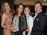LONDON, ENGLAND - JUNE 17:  (L to R) Amber Le Bon, Yasmin Le Bon, Tallulah Le Bon and Simon Le Bon attend the Red Magazine dinner in honour of Yasmin Le Bon at Bulgari Hotel on June 17, 2015 in London, England.   Pic Credit: Dave Benett