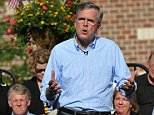 PELLA, IA - JUNE 17:  Republican presidential candidate, former Florida Gov. Jeb Bush speaks to a crowd of supporters June 17, 2014 in Pella, Iowa. Bush spoke about his record as well as his notable family, and answered questions from the audience.  (Photo by Steve Pope/Getty Images)