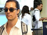 eURN: AD*172814157  Headline: MATTHEW MCCONAUGHEY AND THE WHOLE BROOD BOARD A FLIGHT TO TOKYO Caption: 17.JUNE.2015 - LOS ANGELES - USA *STRICTLY AVAILABLE FOR UK AND GERMANY USE ONLY* OSCAR-WINNER MATTHEW MCCONAUGHEY AND HIS JET-SETTING FAMILY, CAMILA ALVES AND THEIR THREE KIDS, BOARDED A FLIGHT TO TOKYO ON WEDNESDAY MORNING AT LAX. THE ADORABLE COUPLE WORE MATCHING WHITE BUTTON UP SHIRTS AS THEY LED THEIR KIDS THROUGH THE AIRPORT SECURITY BYLINE MUST READ : XPOSUREPHOTOS.COM ***UK CLIENTS - PICTURES CONTAINING CHILDREN PLEASE PIXELATE FACE PRIOR TO PUBLICATION *** *UK CLIENTS MUST CALL PRIOR TO TV OR ONLINE USAGE PLEASE TELEPHONE 0208 344 2007* Photographer: XPOSUREPHOTOS.COM  Loaded on 17/06/2015 at 21:42 Copyright: . Provider: KSJ  Properties: RGB JPEG Image (35925K 2255K 15.9:1) 2859w x 4289h at 200 x 200 dpi  Routing: DM News : GroupFeeds (Comms), GeneralFeed (Miscellaneous) DM Showbiz : SHOWBIZ (Miscellaneous) DM Online : Online Previews (Miscellaneous), CMS Out (Miscellaneous)