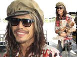 eURN: AD*172838274  Headline: STEVEN TYLER TRAVELS WITH POOCHES AT LAX AIRPORT Caption: 17.JUNE.2015 - LOS ANGELES - USA *STRICTLY AVAILABLE FOR UK AND GERMANY USE ONLY* ROCK AND ROLL LEGEND STEVEN TYLER ARRIVED AT LAX AIRPORT ON WEDNESDAY MORNING, READY TO BOARD A FLIGHT OUT OF TOWN. THE AEROSMITH SINGER SHOWED OFF HIS TYPICAL OVER-THE-TOP STYLE IN A PATTERNED SHIRT, BEDAZZLED FLARED JEANS, COLORED HAIR AND PAINTED TOENAILS!  STEVEN ALSO BROUGHT ALONG HIS PRIZED POSSESSIONS WITH HIM, HIS TWO BELOVED DOGS, BUTCH CASSIDY AND THE SUNDANCE KID! BYLINE MUST READ : XPOSUREPHOTOS.COM ***UK CLIENTS - PICTURES CONTAINING CHILDREN PLEASE PIXELATE FACE PRIOR TO PUBLICATION *** *UK CLIENTS MUST CALL PRIOR TO TV OR ONLINE USAGE PLEASE TELEPHONE 0208 344 2007*  Photographer: XPOSUREPHOTOS.COM Loaded on 18/06/2015 at 05:46 Copyright: . Provider: KSJ  Properties: RGB JPEG Image (36164K 2639K 13.7:1) 2613w x 4724h at 300 x 300 dpi  Routing: DM News : GeneralFeed (Miscellaneous) DM Showbiz : SHOWBIZ (